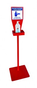 hand-sanitier-station-red-stand