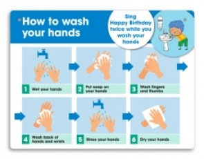 how-to-wash-your-hands-school-wall-sign