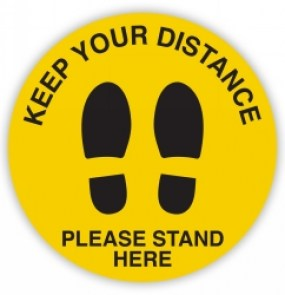 keep-your-distance-shoeprint-floor-sign-yellow
