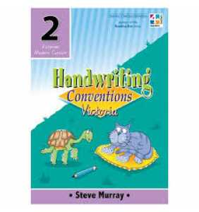 Handwriting Conventions 2 VIC