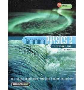 *REDUCED* Jacaranda Physics 2 3E VCE Units 3&4 & eBookPLUS (RRP $89.95)
