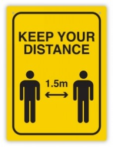 keep-your-distance-1.5-wall-sign-yellow