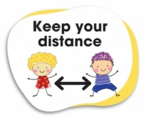 keep-your-distance-floor-sign-school