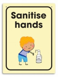 sanitise-hands-wall-sign