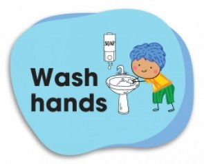wash-hands-floor-sign-school