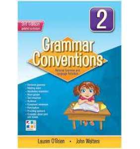 Grammar Conventions 2 -3E