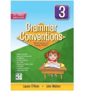 Grammar Conventions 3 - 3E