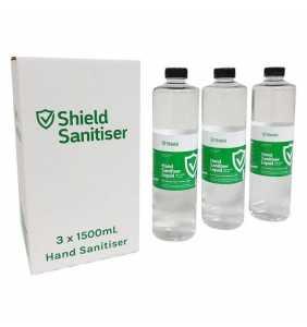 Sterling Shield Hand Sanitiser (3 Pack) for Bollard