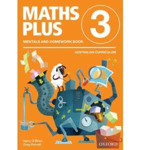 Maths Plus Aus Curriculum Edition Mentals & Homework Book 3 Revised Ed