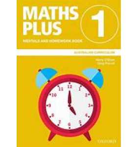 Maths Plus Aus Curriculum Edition Mentals & Homework Book 1